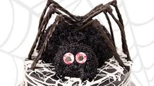 3d spider cake halloween cake from cookies cupcakes and cardio