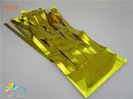 gold foil tissue paper pack of 5pcs 25 35cm gold foil tissue paper tassel garland kit