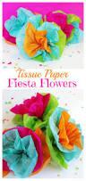 tissue paper fiesta flowers cinco de mayo party cinco de mayo
