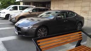 maserati metallic maserati ghibli start up drive away youtube