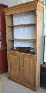 Pine Bookcase With Doors Currently Available Inventory European Antique Pine Furniture