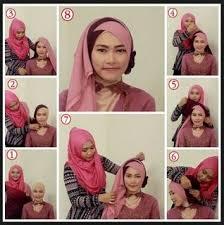 tutorial makeup natural hijab pesta cara memakai hijab untuk perpisahan sekolah sma turban lifestyle