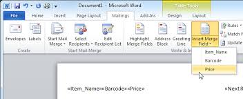 office 2013 mail merge barcode labels in microsoft word 2016 2013 2010 or 2007 mail merge