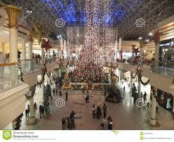 Christmas Decorations Shop Dubai by Christmas Decorations At Wafi Mall In Dubai Editorial Photo