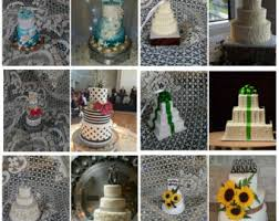 wedding cake replica made to order mini cake custom ornament