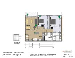 2 Bedroom Condo Floor Plan Residences Condo Floor Plans 45 Asheland Asheville Nc
