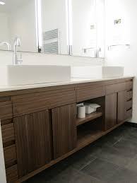 bathroom chic brown solid plywood custom floating vanity with stunning floating vanity for your bathroom remodeling chic brown solid plywood custom floating vanity with