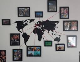 Best 25 Hanging Family Pictures Best 25 Wall Maps Ideas On Pinterest World Map On Wall World