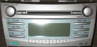 toyota camry 2007 audio system camry 2007 2008 cd mp3 wma radio 86120 06180 11815 blem