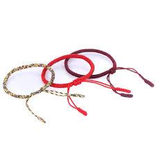 s bracelet tibetan buddhist handmade knots bracelet ancient explorers