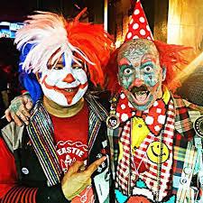 clowns for birthday tattooed clown richiethebarber instagram photos and