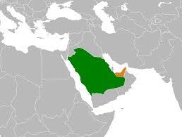 United Arab Emirates Map Saudi Arabia U2013united Arab Emirates Relations Wikipedia