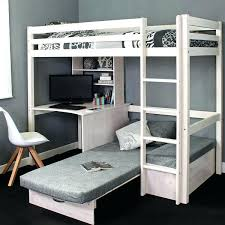 High Sleeper Beds With Sofa High Bed With Desk High Sleeper With Desk And Futon Uk