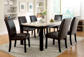Awesome Black Marble Dining Room Table Gallery Room Design Ideas - Marble dining room furniture