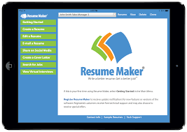 Mobile Resume Maker Write A Better Resume Resume Maker For Ipad Individual Software