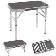 B O Tische Bo Camp Alu Mini Campingtisch Beistelltisch Klapptisch Koffertisch
