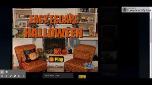 hiddenogames easy escape halloween youtube