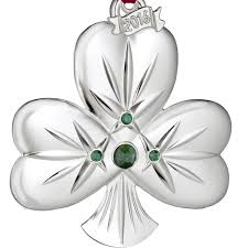 waterford shamrock ornament 2016 silver superstore