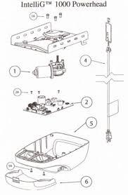 Overhead Garage Door Repair Parts Legacy Compatible Garage Door Opener Parts Intellig 1200 Chain