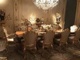 Baroque Home Decor 10 Luxury Dining Rooms With Inspiring Baroque Style