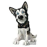 pets with personality the siberian husky ornament