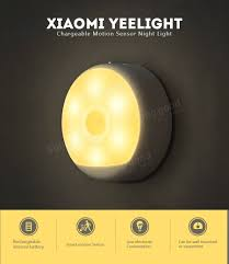 smart electrician rechargeable work light xiaomi yeelight led infrared body motion sensor night light smart