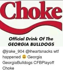 official drink of the georgia bulldogs wtf happened georgia