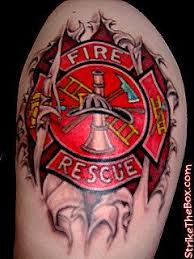 10 best tattoos images on firefighter tattoos