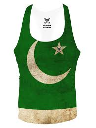 Oakistan Flag Pakistan Flag Stringer Vest Get Down Gymwear