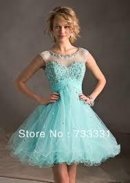 turmec short sleeve knee length prom dresses