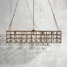 arhaus chandelier la cage 5 light rectangle chandelier arhaus furniture