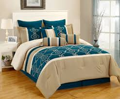teal and brown bedding sets bedding sets gray teal blue embroidery