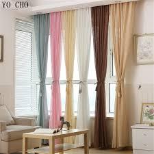 rideaux pas cher multicolore épaissir linge rideaux pas cher personnalisé fenêtre