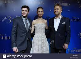 film cinderella kenneth branagh moscow russia 16th feb 2015 actors richard madden and lily james