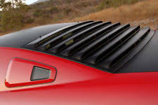 mustang rear louvers mustang rear window louvers ebay