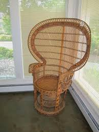 Cane Peacock Chair For Sale Peacock Wicker Chair Roselawnlutheran