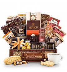 coffee gift basket ideas peet s coffee chest coffee gift basket