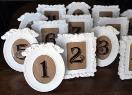 numero table mariage diy des cadres chics et contemporains pour mes numéros de table