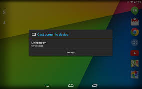 hands on video android u0027s new screen casting feature is a game