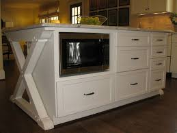 kitchen island microwave best 25 built in microwave ideas on built in