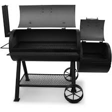 Brinkmann Dual Function Grill Reviews by Char Broil Oklahoma Joe U0027s Longhorn Offset Smoker Grill Walmart Com
