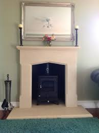 fireplace and hearths carved from cotswold stone