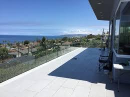 contemporary glass balcony railing patriot glass and mirror