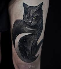 collection of 25 black cat tattoo