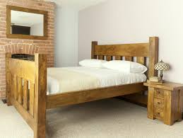 fantastic sherwood carpenter made unfinished mahogany rustic bed fantastic sherwood carpenter made unfinished mahogany rustic bed with brick exposed fireplace bedroom as well as traditional bedside table in white country
