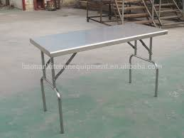 stainless steel folding table outdoor leisure equipment best choice stainless steel cing