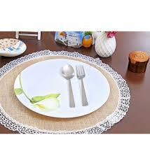 placemats for round table buy my gift booth lace round table mat beige jute placemats online