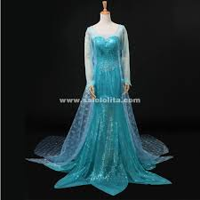 frozen of elsa cosplay costumes women elsa fantasy snow queen