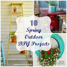 Diy Spring Projects by Round Up Monday 10 Spring Outdoor Diy Projects Fun Home Things