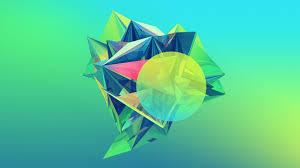jne 48 geometric green wallpaper geometric green full hd pictures